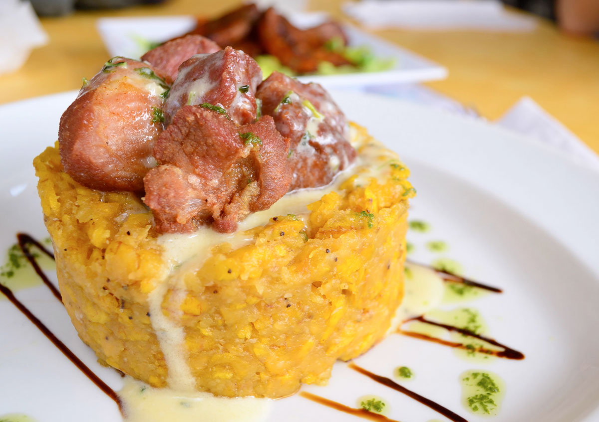 mofongo, traditional dish from Puerto Rico